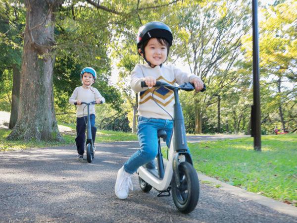 遊んで学ぶから心の成長を促進する! 子育て世代のニーズに応えたエデュケーショナルバイク