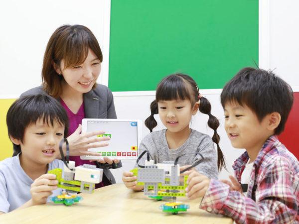 ロボットづくりを通して楽しく学ぶ! 「考える力」が育つプログラミング教室