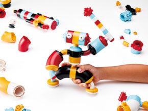 子供の「第二の脳」を鍛える! 新感覚で遊んで学ぶ、2種類の知育ブロック