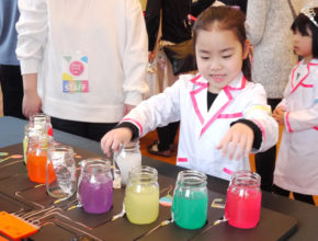 最新の「サイエンストイ」を使ったワークショップが開催! 科学をおもちゃで楽しく体験