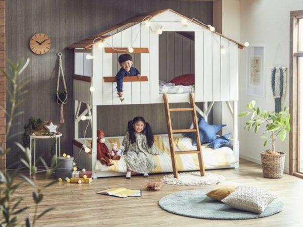まるで秘密基地!? 子供の夢を叶えるハウス型ベッドが可愛すぎる!