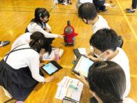 話題のLOVOTがプログラミング学習のパートナーに!? 小学校への本格導入に向け授業を開催!