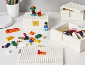 イケア×レゴ®コラボのおしゃれな収納ボックス誕生! 片づけを習慣化する工夫も