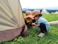 先輩キャンパーが大切にしている子供の学びって? 自然の中での経験とそのポイント